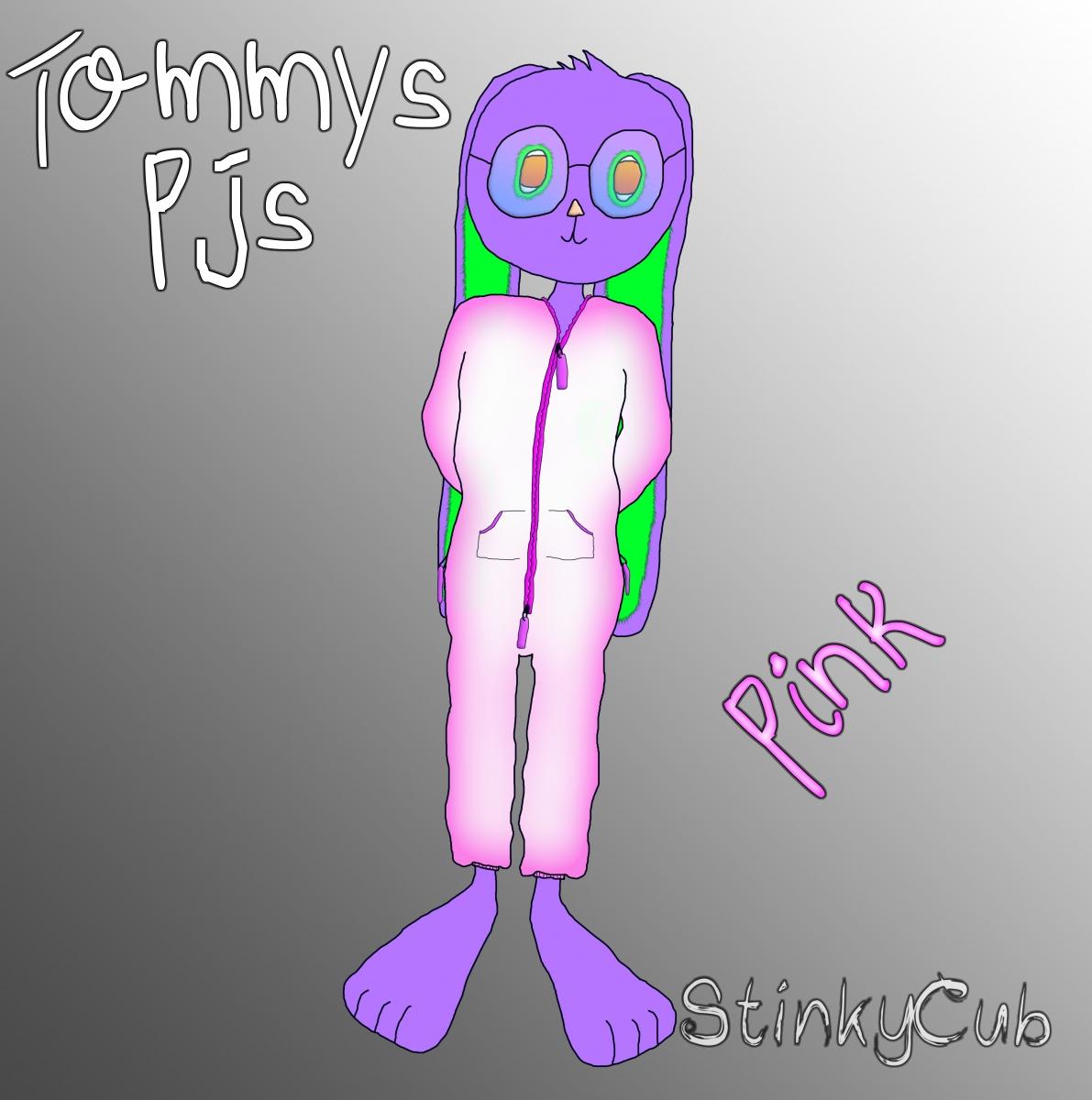 5 Tommy PJs (Pink)