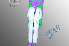 2 Tommy PJs (Blue)